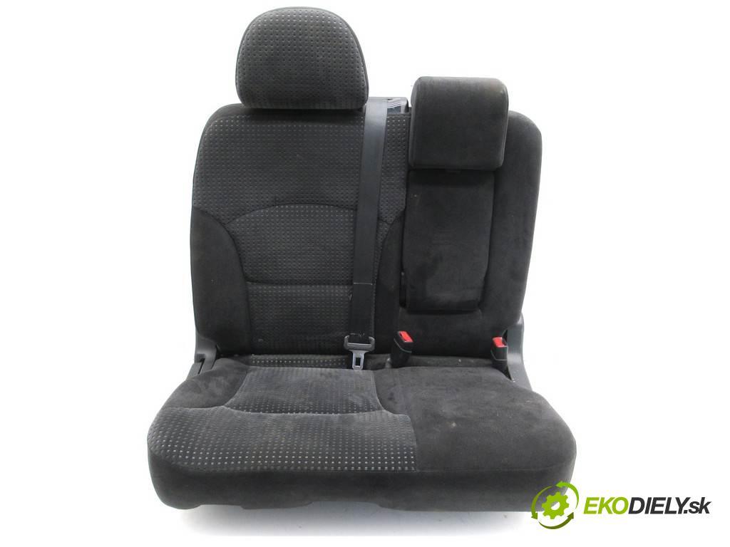 Mitsubishi Grandis    2.0TDI DID 136KM 03-11  Sedadlo zadný druhý -  (Sedačky, sedadlá)
