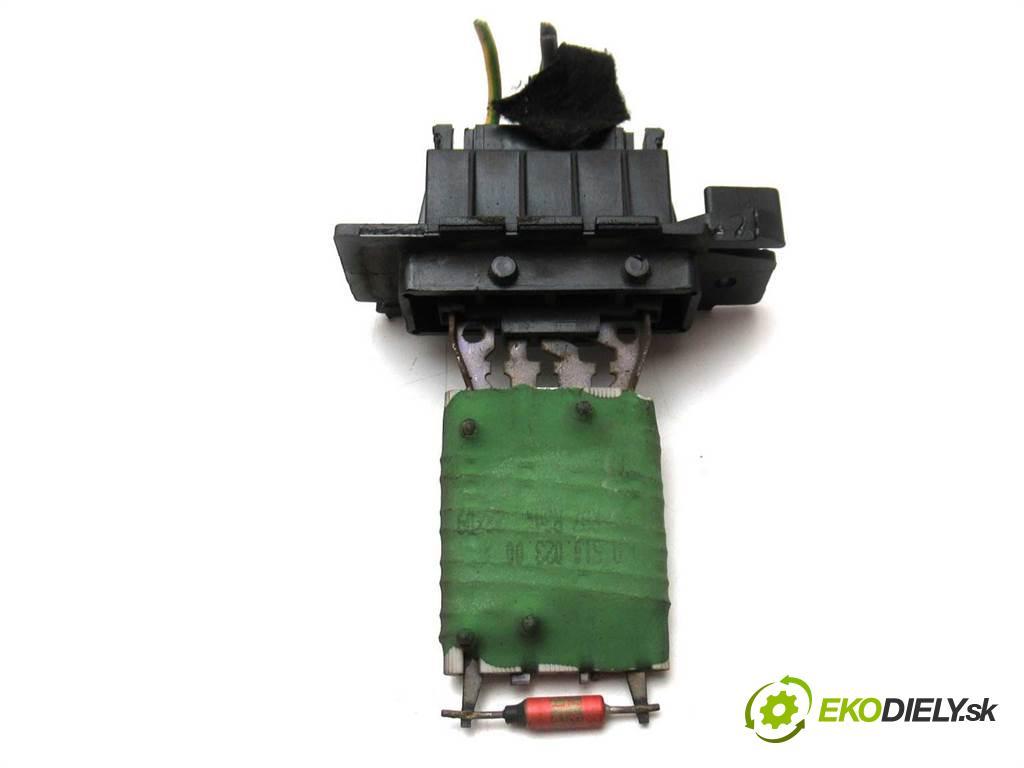 Fiat Grande Punto  2009 57kw HATCHBACK 5D 1.4B 77KM 05-12 1368 odpor rezistor topení vzduchu  (Odpory topení)