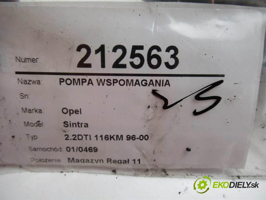 Opel Sintra  1999 85 kw 2.2DTI 116KM 96-00 2171 Pumpa servočerpadlo 90502550 (Servočerpadlá, pumpy riadenia)