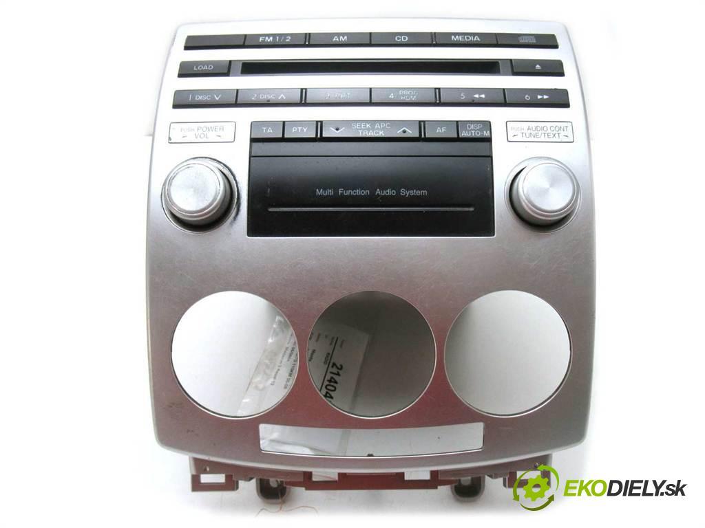 Mazda 5 Premacy II  2006 81 kw 2.0CITD 110KM 05-08 2000 RADIO CC9366AR0 (Audio zariadenia)