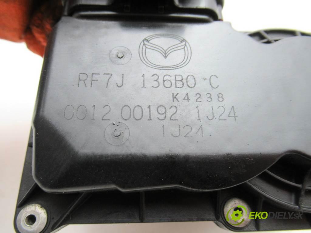 Mazda 6 LIFT  2007  KOMBI 5D 2.0CITD 143KM 05-08 2000 škrtíci klapka RF7J136B0C (Škrticí klapky)