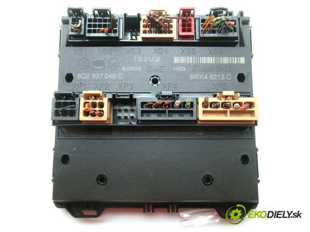 Skoda Fabia  2002  HATCHBACK 5D 1.4B 60KM 99-07 1400 Modul komfortu 6Q2937049C (Moduly komfortu)