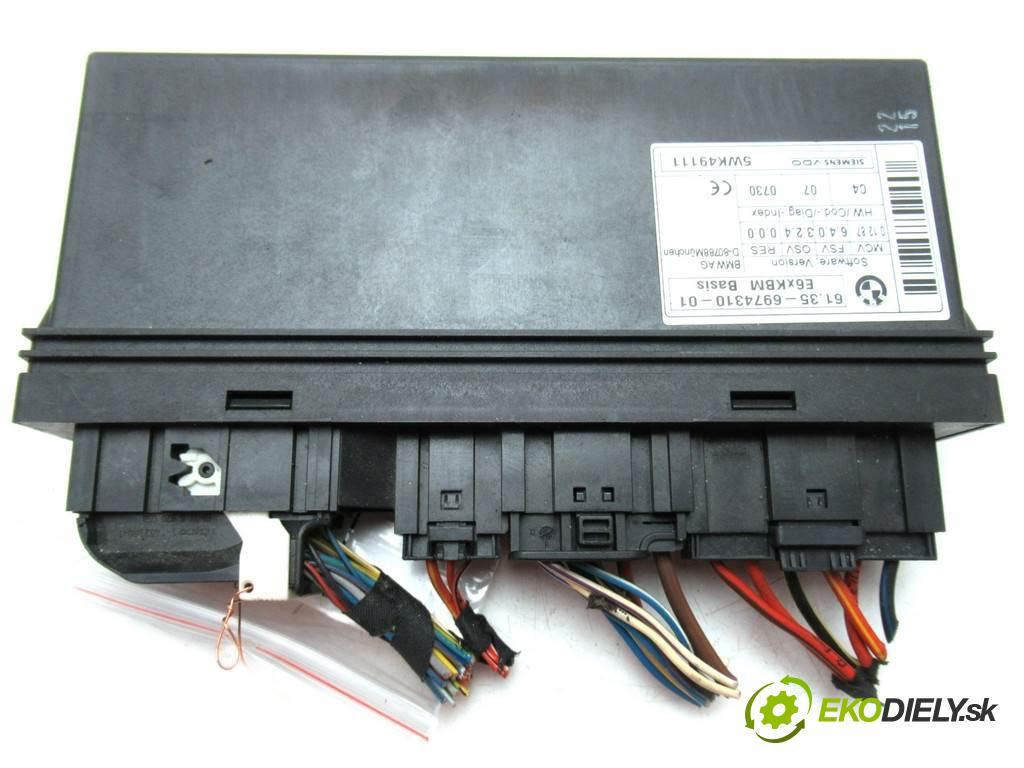 BMW 5 E60    SEDAN 4D 3.0D 218KM 02-10  Modul komfortu 6974310 (Moduly komfortu)
