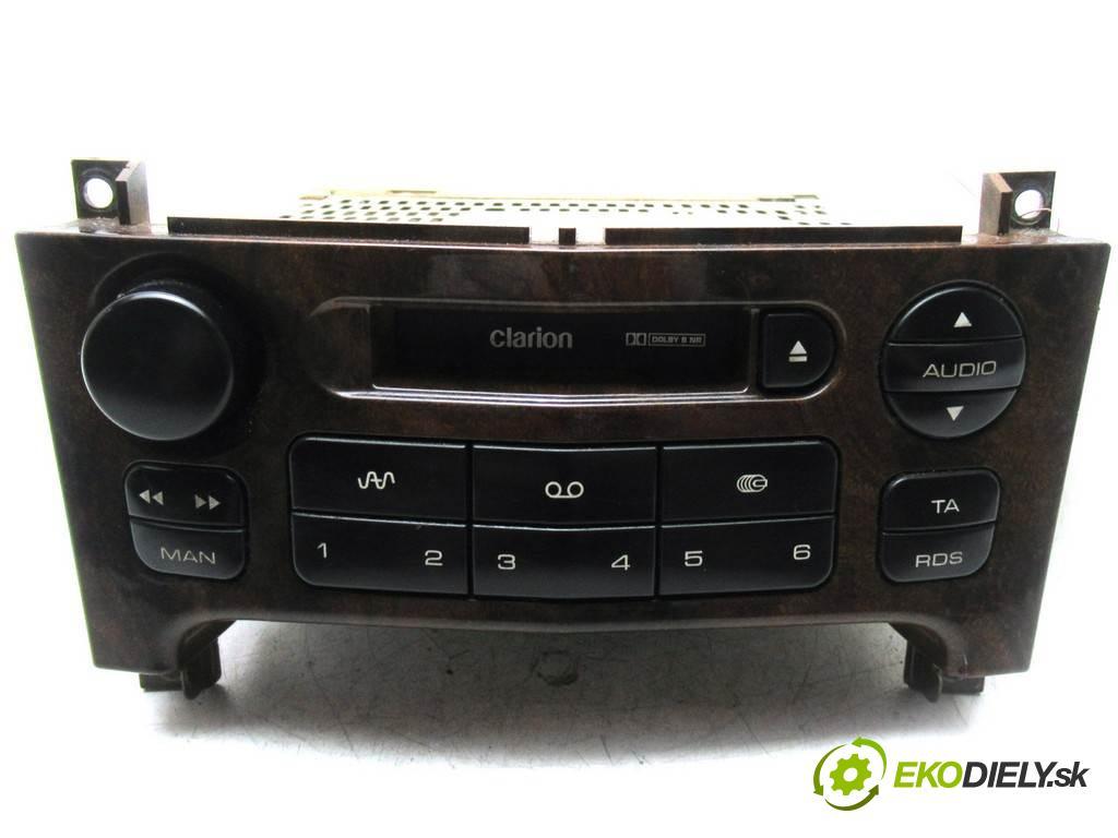 Peugeot 607  2003  SEDAN 4D 2.2HDI 133KM 99-10 2200 RADIO 96431808GV (Audio zariadenia)