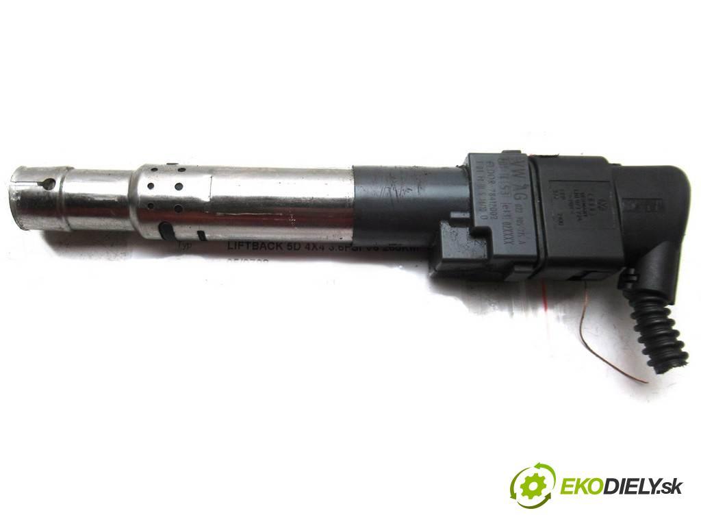 Skoda Superb II  2010  LIFTBACK 5D 4X4 3.6FSI V6 260KM 08-13 3600 Cievka zapaľovacia 022905715A (Zapaľovacie cievky, moduly)