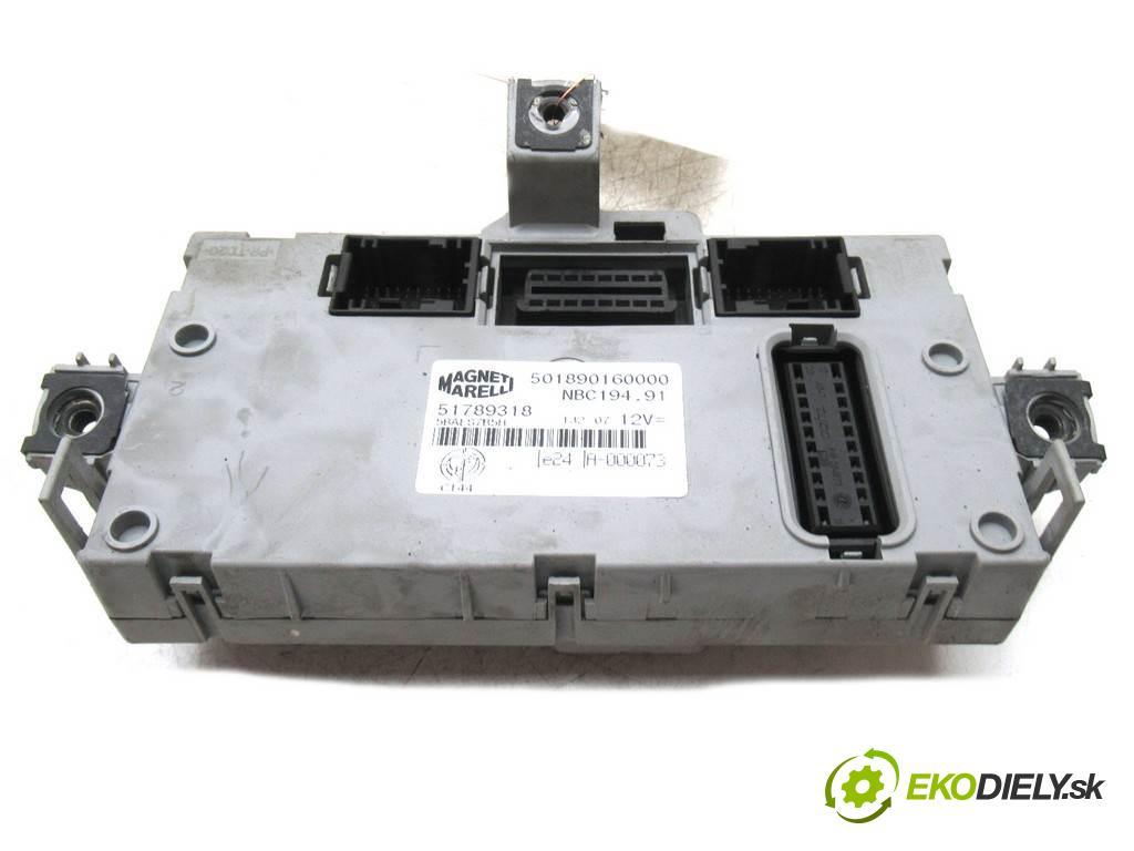 Fiat Croma    KOMBI 5D 1.8B 140KM 05-11  modul BSI 51789318 (Pojistkové skříňky)