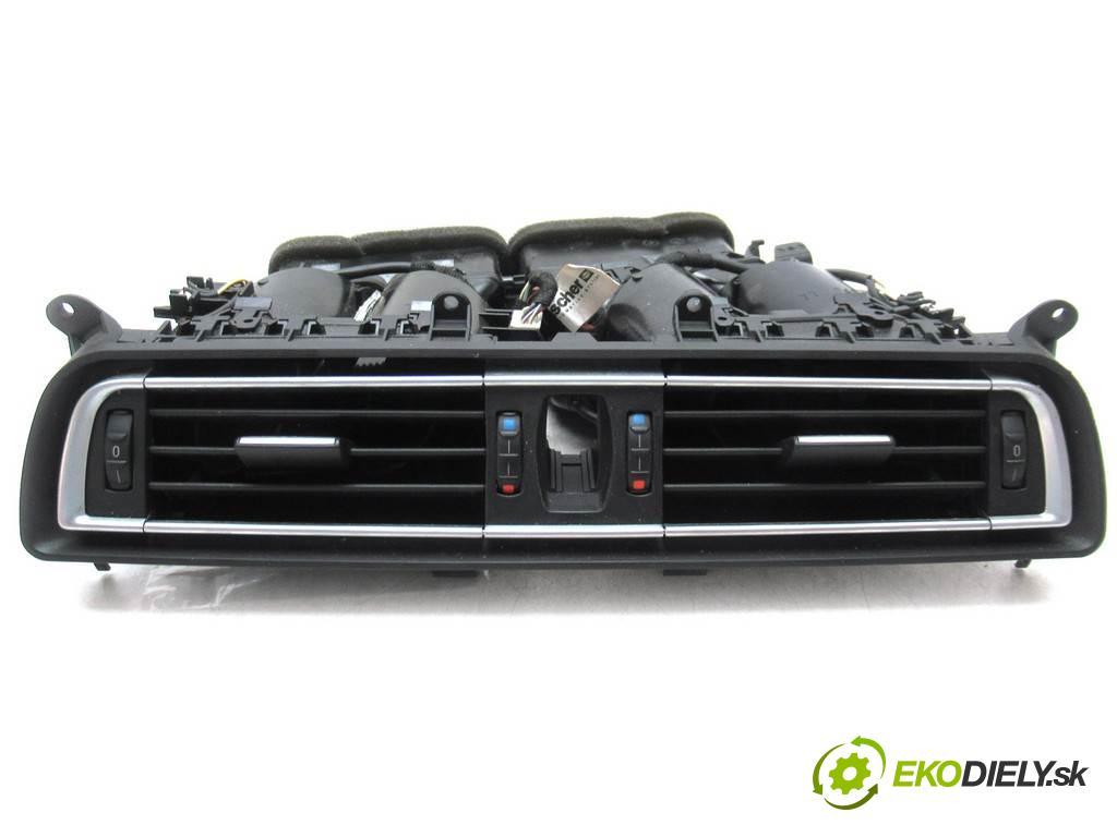 BMW F01 750i    SEDAN 4D 4.4B 408KM 08-15  Mriežky kúrenia stredna 9115859 (Mriežky kúrenia (fukáre))