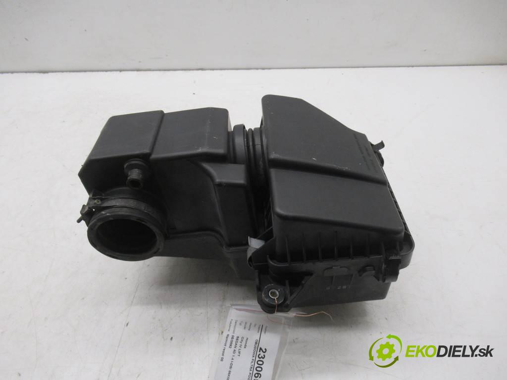 Honda City IV LIFT  2007 61 kw SEDAN 4D 1.4 I-DSI 86KM 05-08 1400 Obal filtra vzduchu  (Obaly filtrov vzduchu)