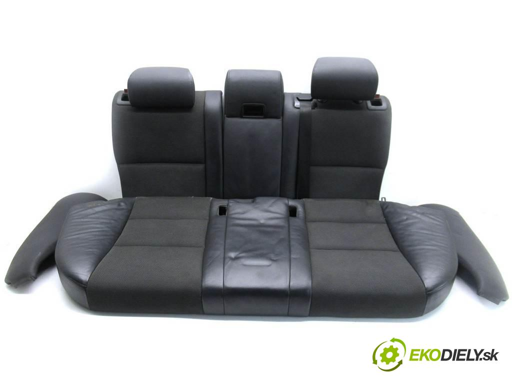 BMW 5 E60  2010 177KM E61 LIFT KOMBI 5D 2.0D 177KM 02-10 2000 Sedadlo zad  (Sedačky, sedadlá)