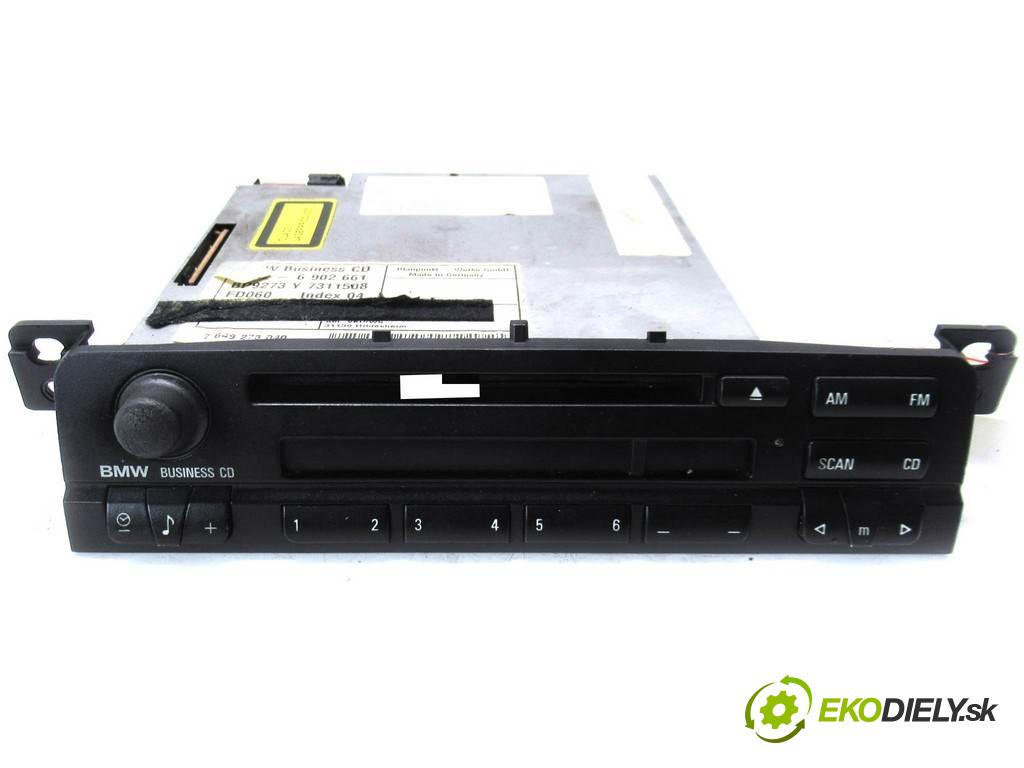 BMW 3 E46  2000  SEDAN 4D 2.0D 136KM 98-03 1951 RADIO 7311508 (Audio zariadenia)