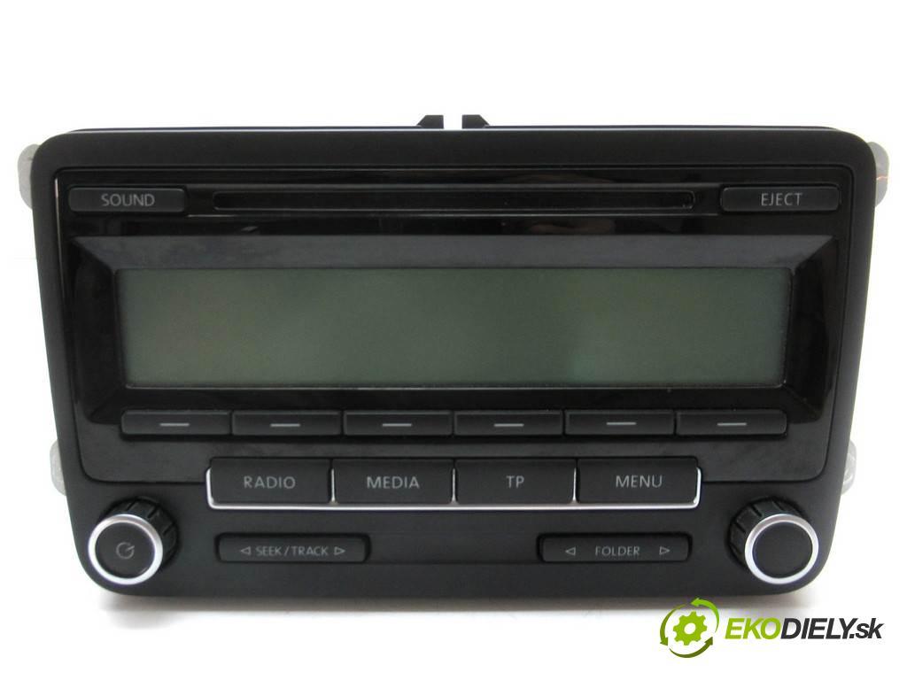 Volkswagen Polo V  2010 44 kW HATCHBACK 5D 1.2B 60KM 09-14 1198 RADIO 5M0035186AA (Audio zariadenia)