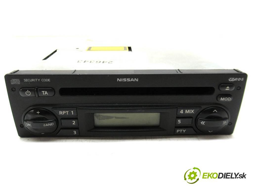 Nissan Note  2006  E11 1.5DCI 86KM 06-12 1461 RADIO 7645389318 (Audio zariadenia)