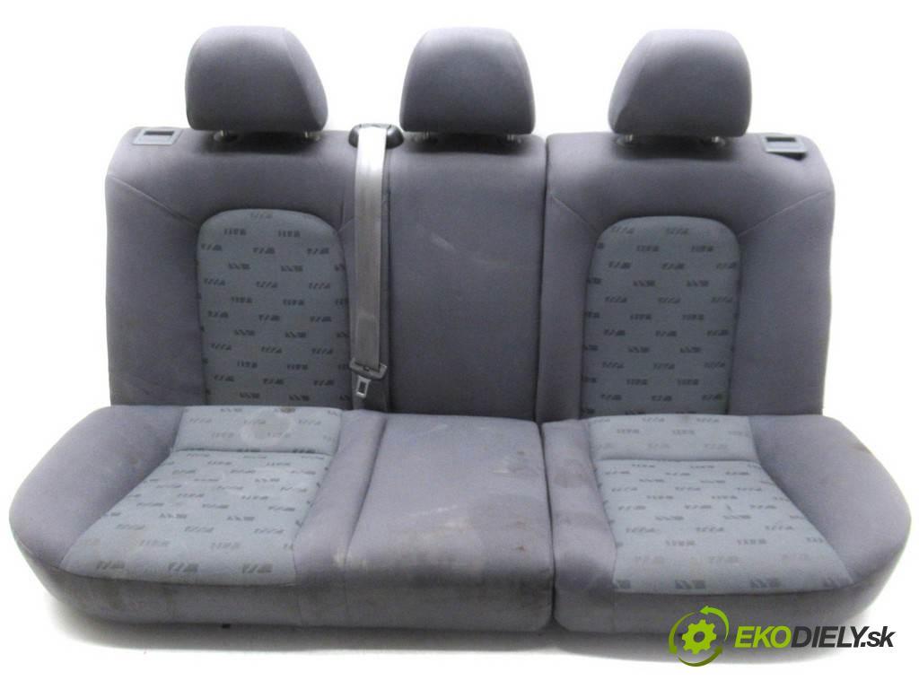 Seat Leon  2002 74 kW HATCHBACK 5D 1.6B 100KM 99-05 1600 Sedadlo zad  (Sedačky, sedadlá)