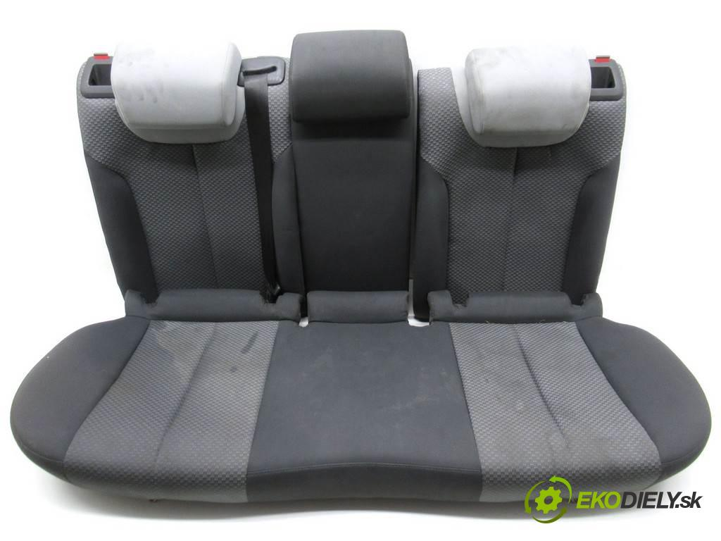Seat Leon II  2005 77 kW HATCHBACK 5D 1.9TDI 105KM 05-09 1900 Sedadlo zad  (Sedačky, sedadlá)