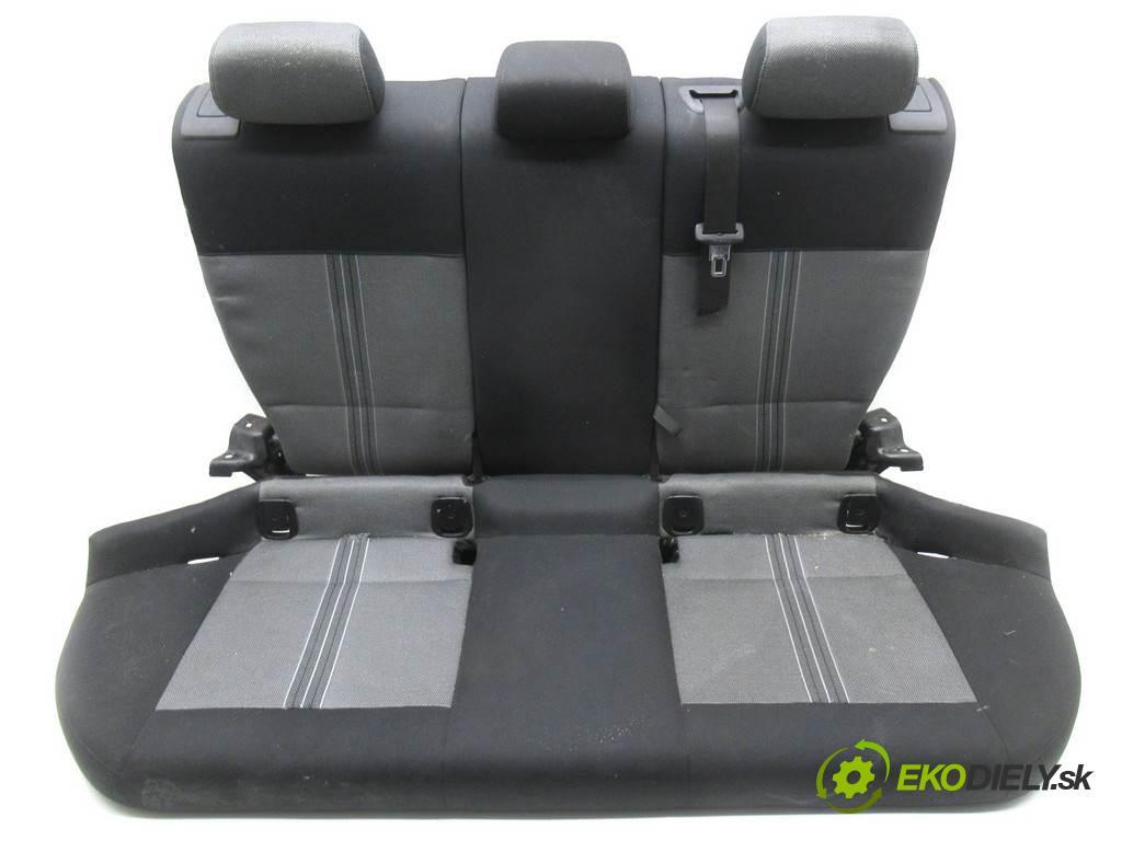 BMW X1 E84  2012 105KW 2.0D 143KM 09-15 2000 Sedadlo zad 1747209 (Sedačky, sedadlá)
