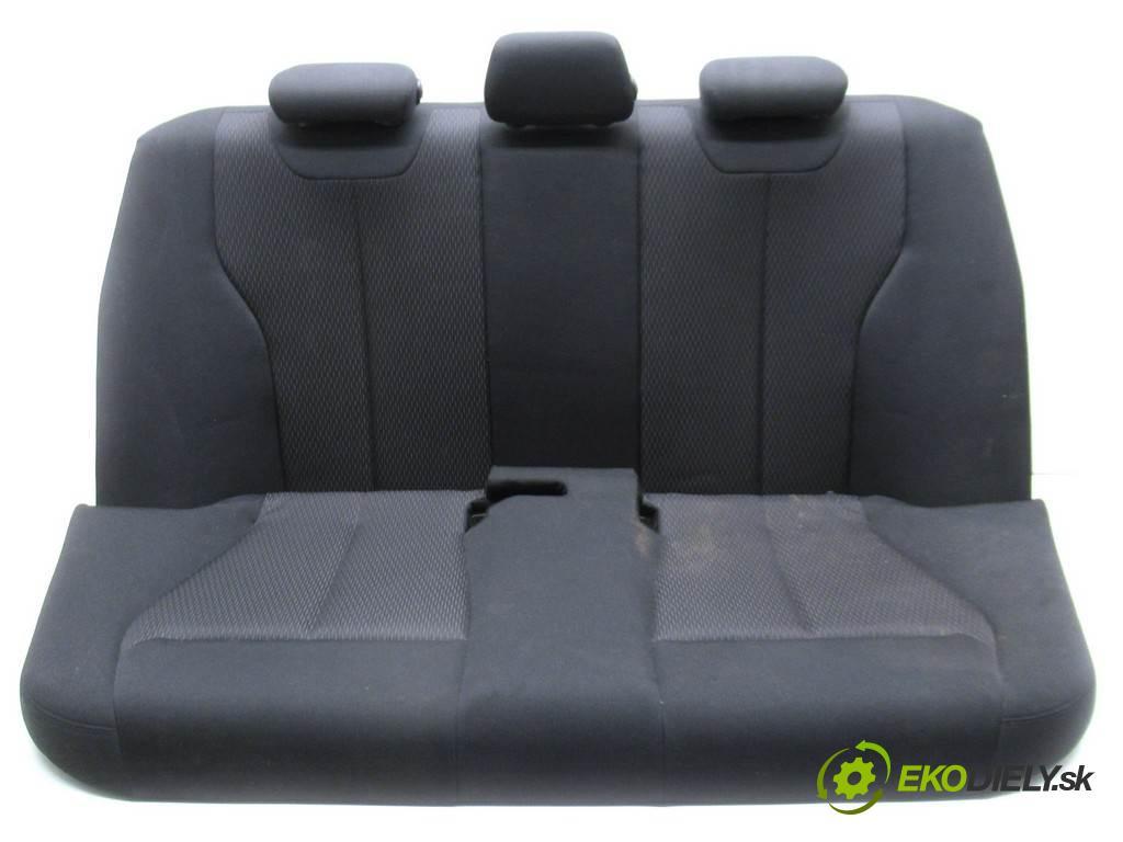 BMW 3 F30  2015 135 kW SEDAN 4D 2.0D 184KM 11-19 2000 Sedadlo zad  (Sedačky, sedadlá)