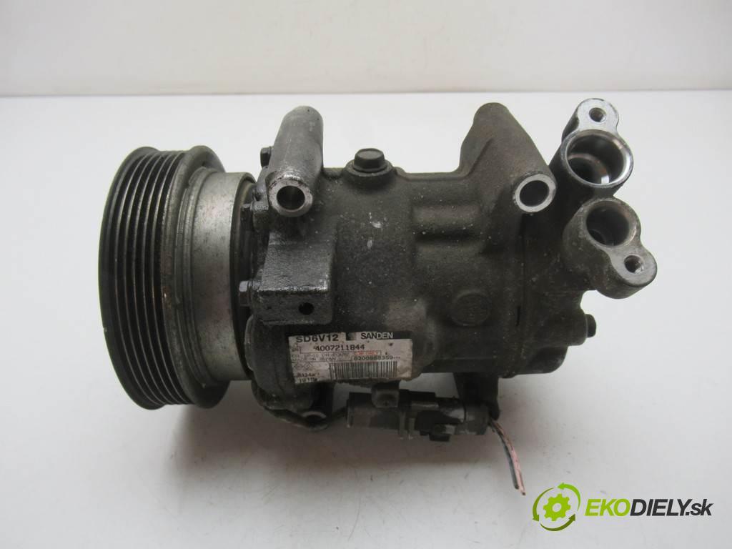 Renault Kangoo II  2009 63 kW III 1.5DCI 86KM 08-13 1500 kompresor klimatizace 8200953359 (Kompresory)