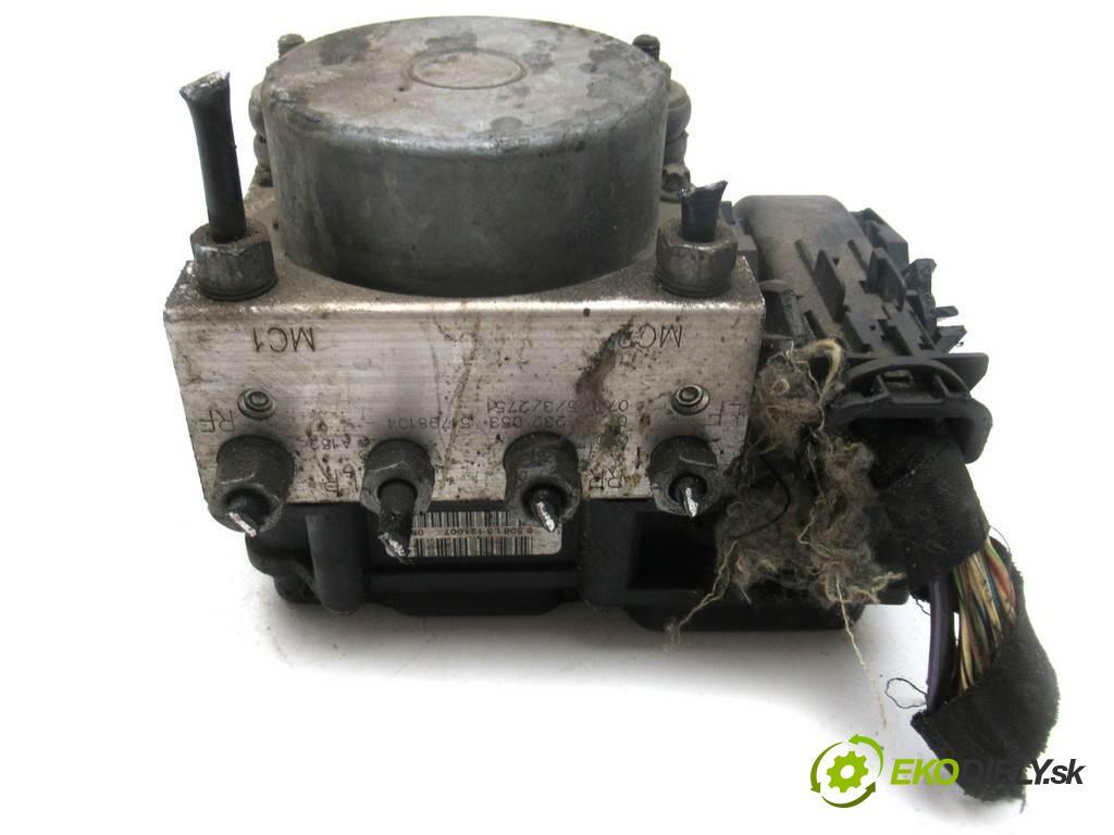Fiat Grande Punto  2007 57 kW HATCHBACK 5D 1.4B 78KM 05-12 1400 Pumpa ABS 0265800690 (Pumpy ABS)