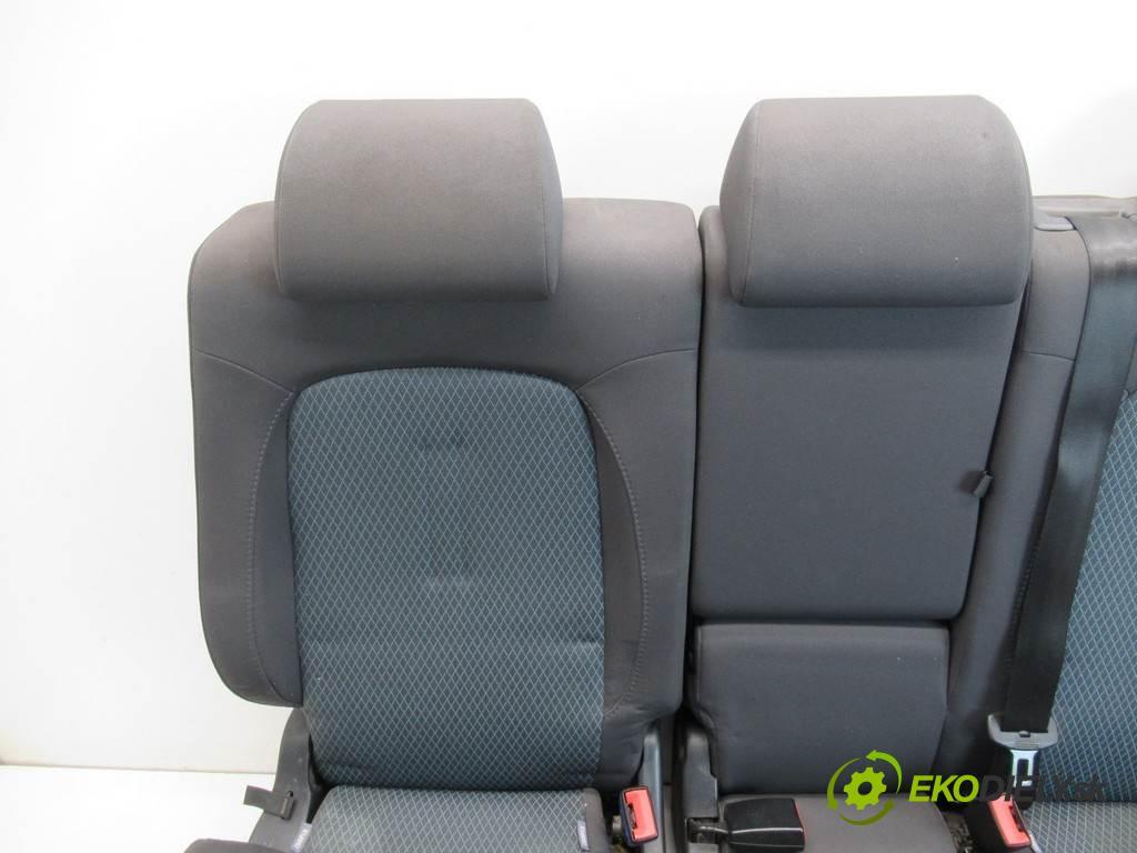 Seat Toledo III  2007 77 kW 1.9TDI 105KM 04-09 1900 Sedadlo zad  (Sedačky, sedadlá)
