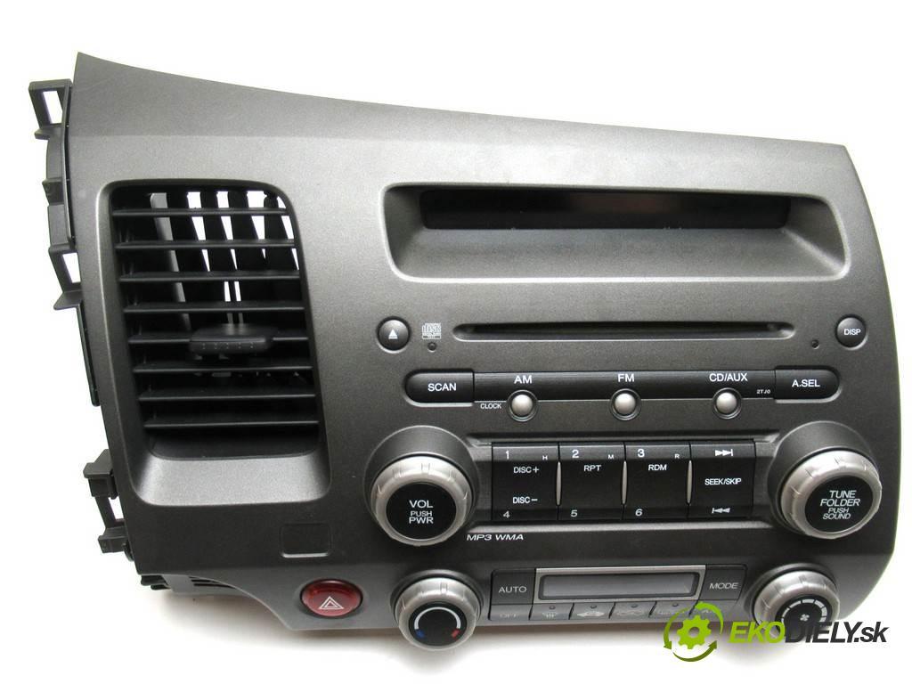 Honda Civic VIII  2006 103 kW SEDAN 1.8B 140KM 06-11 1800 RADIO 39100-SNA-F010-M1 (Audio zařízení)
