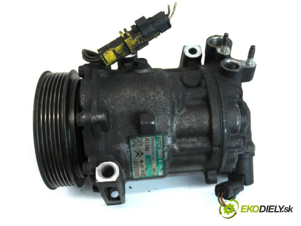 Peugeot 407 SW  2004 100 kW KOMBI 2.0HDI 136KM 04-11 2000 kompresor klimatizace 9648138980 (Kompresory)