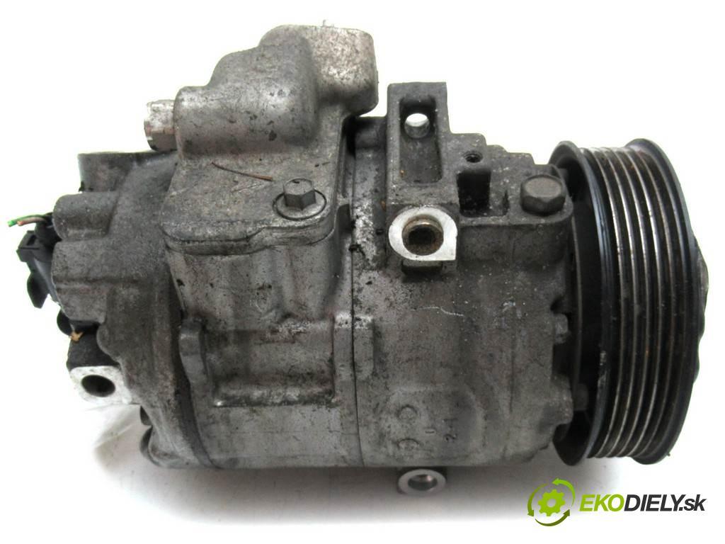 Volkswagen Polo IV 9N  2002 74 kW HATCHBACK 5D 1.9TDI 101KM 01-09 1900 kompresor klimatizace 6Q0820803D (Kompresory)