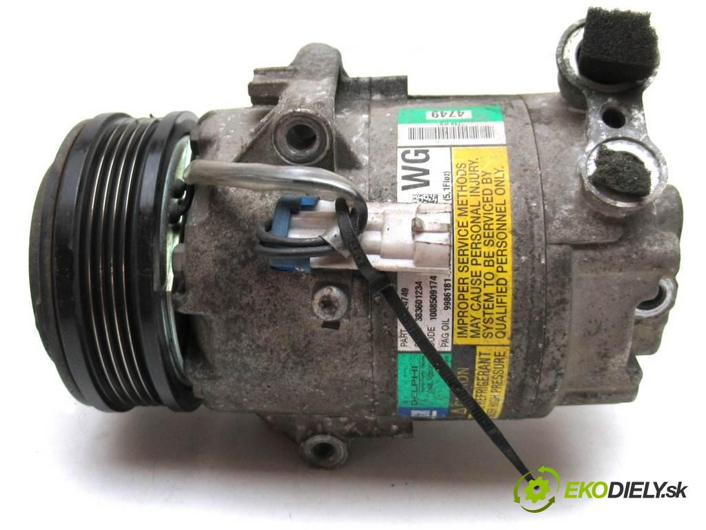 Opel Astra H  2005 92 kW KOMBI 1.8B 125KM 05-10 1800 kompresor klimatizace 13124749 (Kompresory)