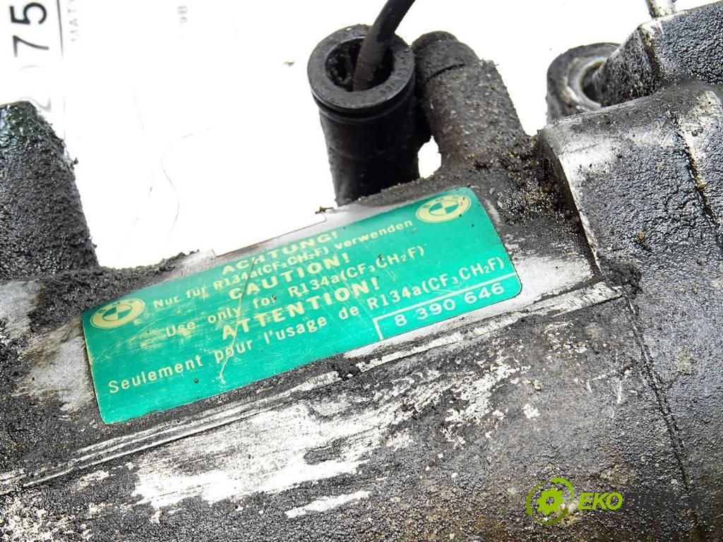 BMW 3 E46  2000 87 kW COUPE 2D 1.8B 1.9B 118KM 98-03 1900 Kompresor klimatizácie 8386650 (Kompresory klimatizácie)