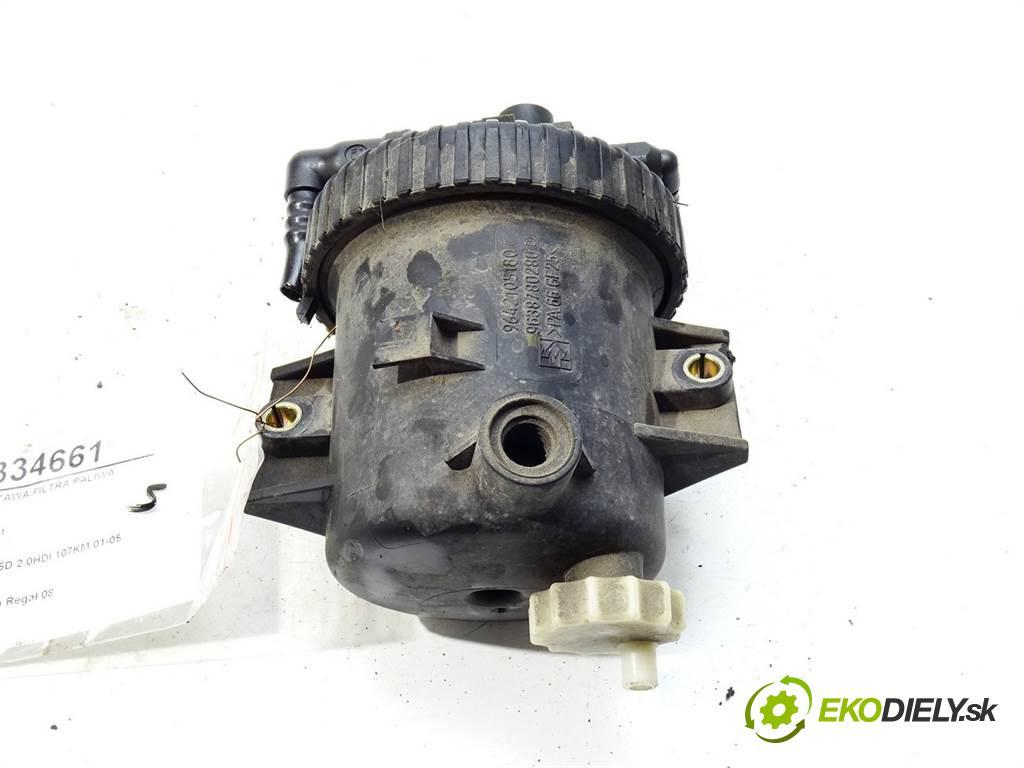 Peugeot 307 SW  2004  KOMBI 5D 2.0HDI 107KM 01-05 2000 obal filtra paliva 9642105180 (Kryty palivové)