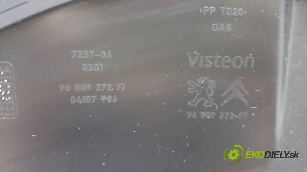CITROEN BERLINGO III PARTNER 2012 ? III PARTNER 1.6 HDI Priehradka, kastlík spolujazdca 9680927277 (Priehradky, kastlíky)