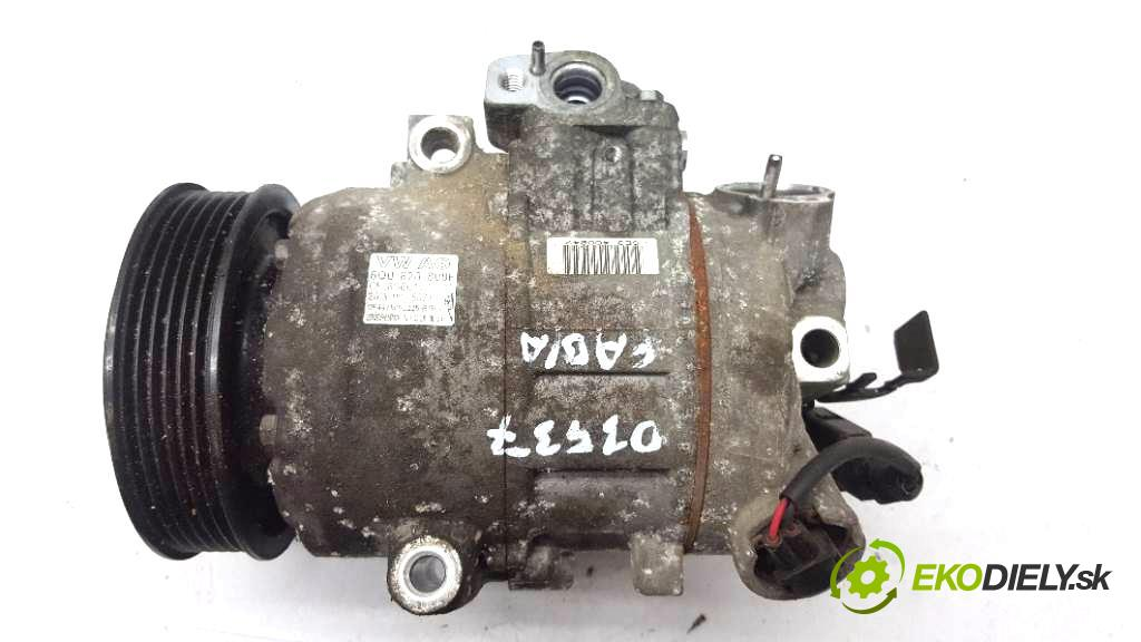 SKODA FABIA  2013 63kW         1390 kompresor klimatizace  (Kompresory)